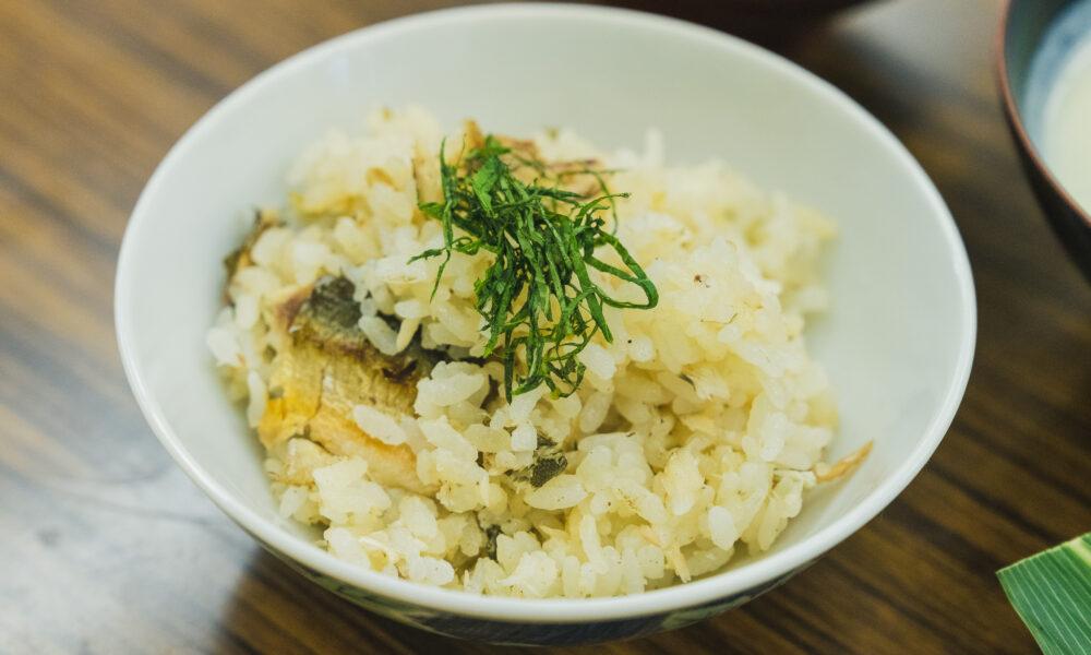 たかすの郷土料理「鮎飯」