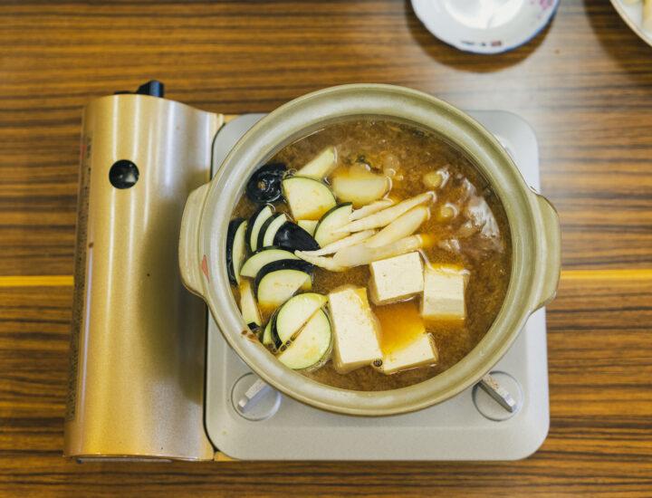 たかすの郷土料理「味噌煮」